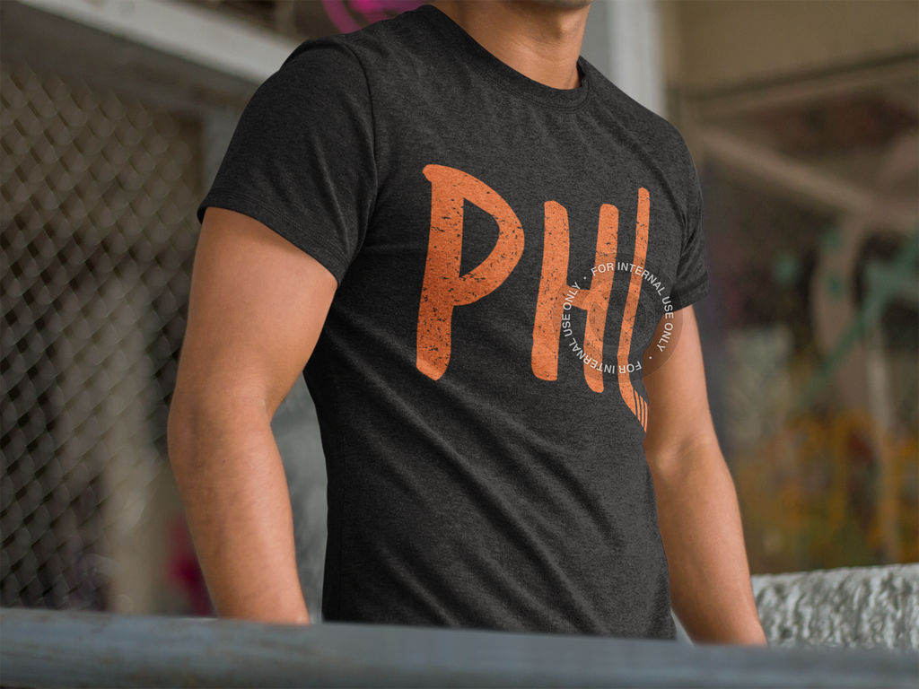 Philadelphia Hockey Adult Triblend Short Sleeve Tee