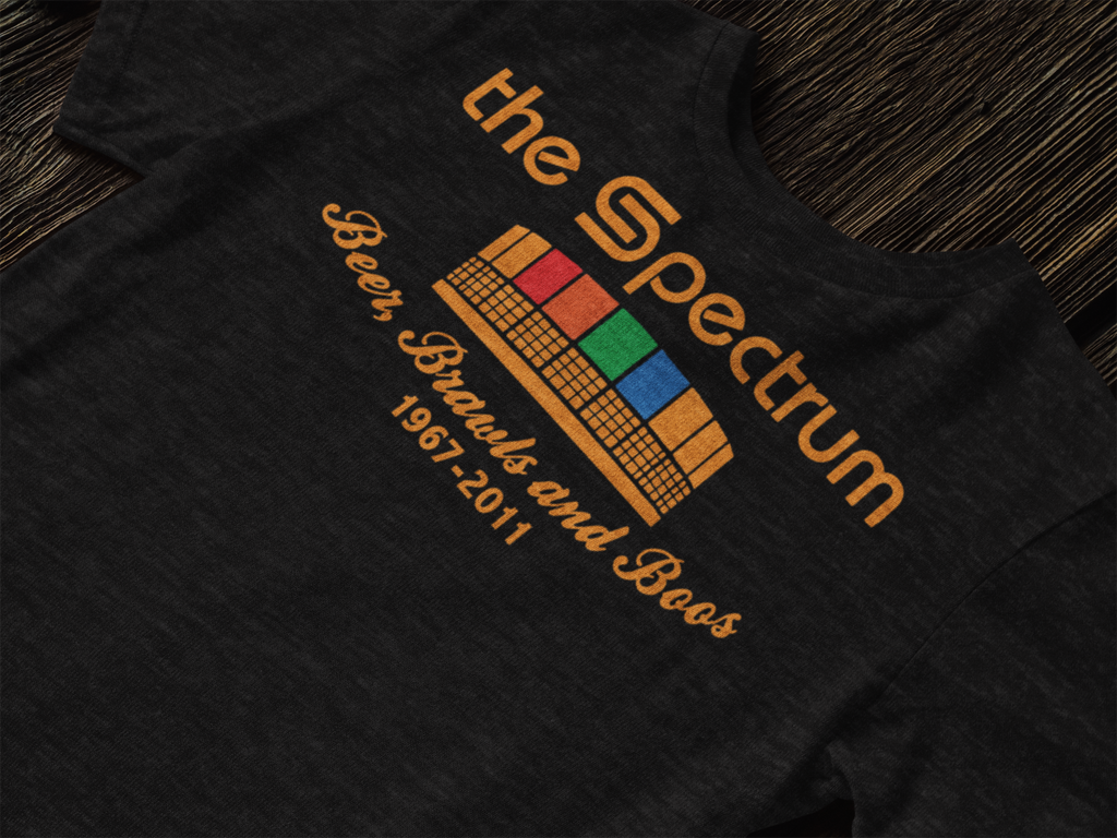 The Good Old Spectrum Adult Triblend Short Sleeve Tee