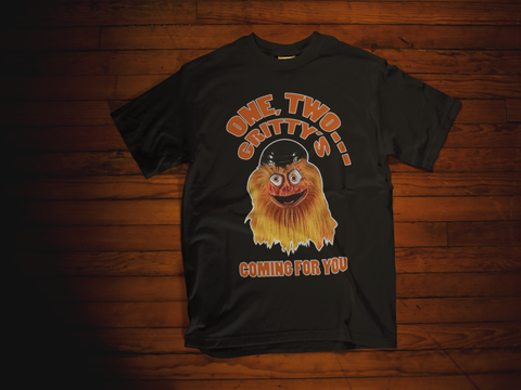 Gritty's Coming For You Unisex T-Shirt - PhillyFandom T-Shirts - Shirts PhillyFandom Philly Sports Tees
