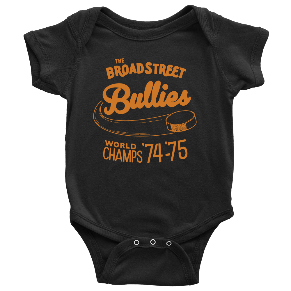 The Broad Street Bullies Retro Infant Bodysuit - PhillyFandom T-shirt - Shirts PhillyFandom Philly Sports Tees