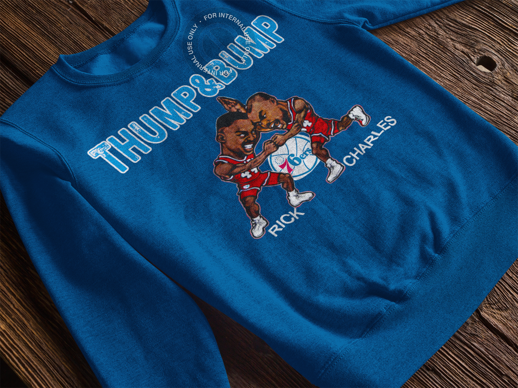 Thump and Bump Fleece - PhillyFandom Apparel - Shirts PhillyFandom Philly Sports Tees