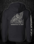 CHTHONIC DEITY - 'REASSEMBLED IN PAIN' ZIP UP SWEATSHIRT