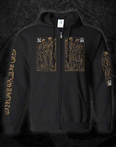 GOATWHORE - 'LIVE STREAM 2021' PREORDER ZIP UP SWEATSHIRT
