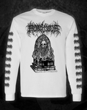 MORTIFERUM - 'ALTAR OF DECAY' WHITE L/S