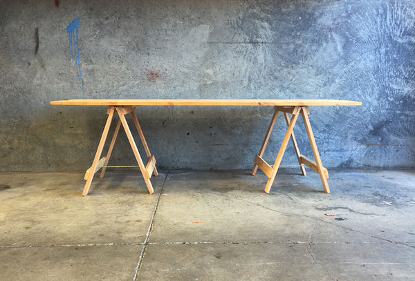 Trestle Table Large