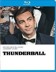 007 Thunderball Digital Copy Download Code VUDU HD HDX