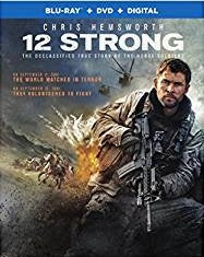 12 Strong Digital Copy Download Code MA VUDU iTunes HD HDX