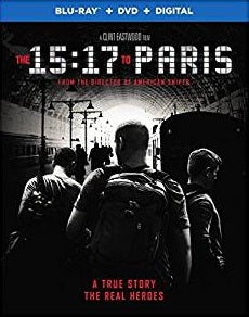 15:17 to Paris Digital Copy Download Code Ultra Violet UV VUDU iTunes HD HDX