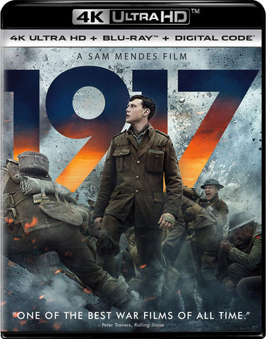 1917 Digital Copy Download Code MA VUDU iTunes 4K