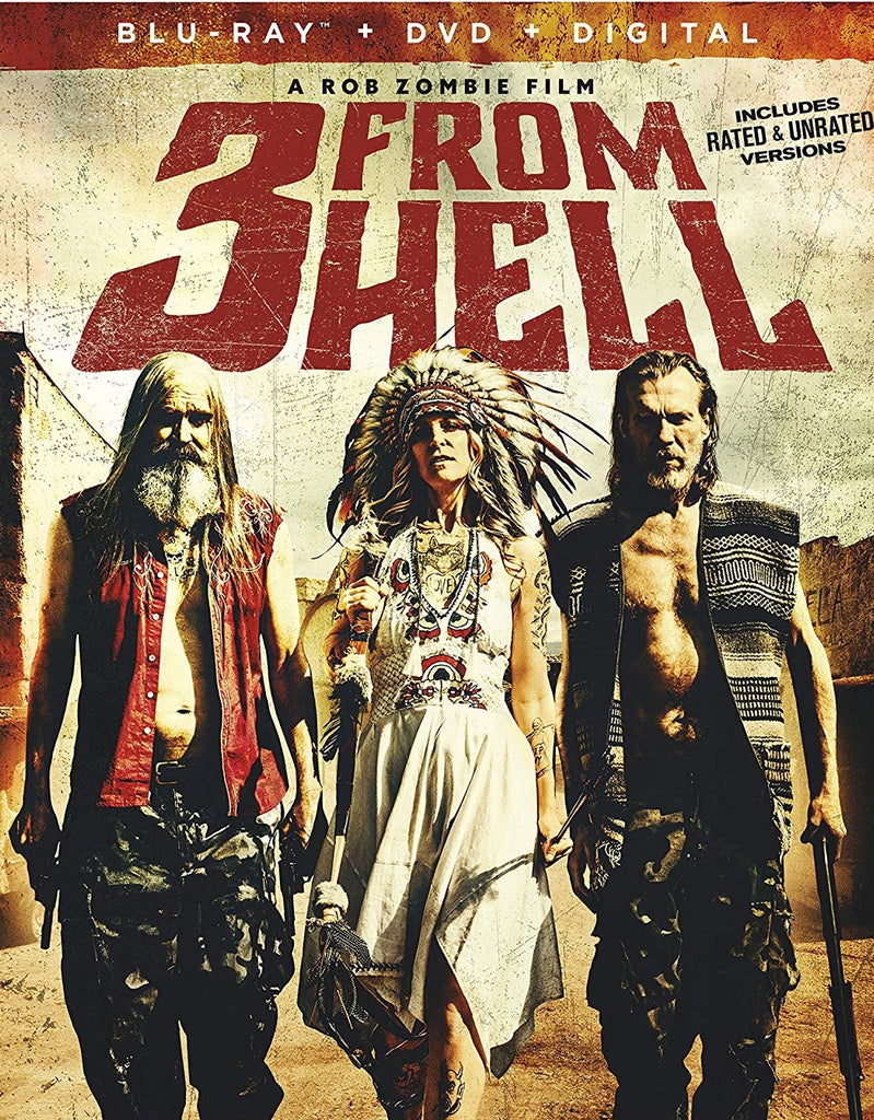 3 From Hell Digital Copy Download Code Vudu HDX