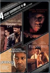 4 Film Favorites Denzel Washington John Q/Training Day/Fallen/Pelican Brief Digital Copy Download Code UV Ultra Violet VUDUSD