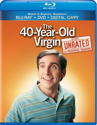 40-Year-Old Virgin Digital Copy Download Code iTunes HD
