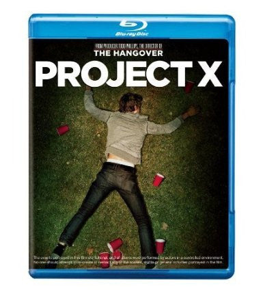 Project X Digital Copy Download Code MA VUDU iTunes HD HDX