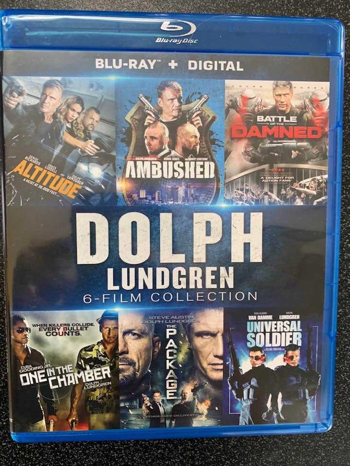 Dolph Lundgren 6-Film Collection Digital Copy Download Code Vudu HD HDX