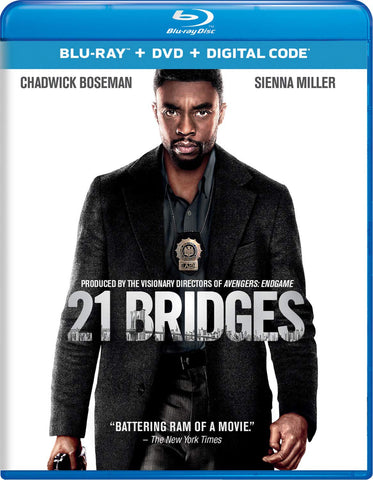 21 Bridges Digital Copy Download Code iTunes HD