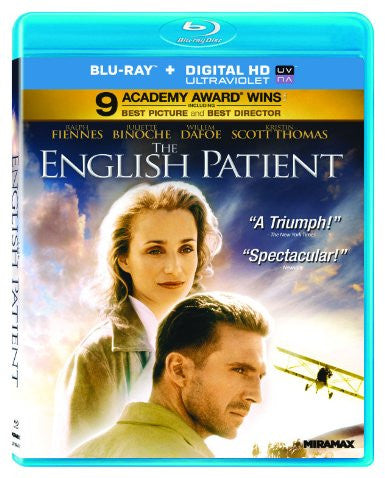 English Patient Digital Copy Download Code UV Ultra Violet VUDU HD HDX