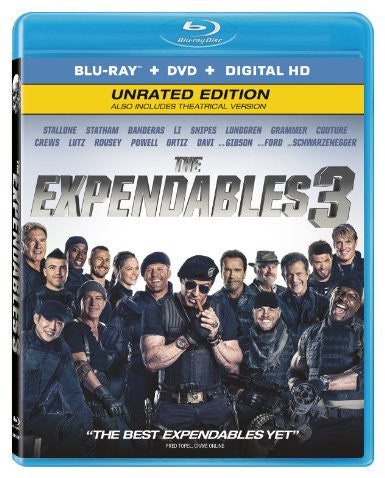 Expendables 3 Theatrical Digital Copy Download Code UV Ultra Violet VUDU HD HDX