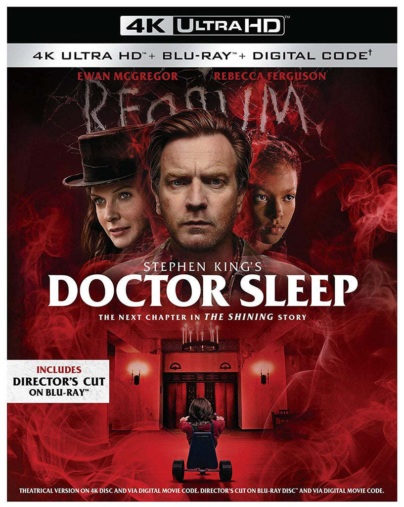 Doctor Sleep Digital Copy Download Code MA VUDU iTunes 4K