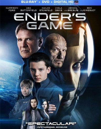 Ender's Game Digital Copy Download Code UV Ultra Violet VUDU HD HDX