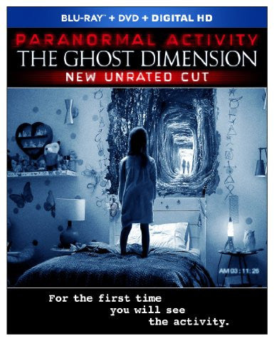 Paranormal Activity The Ghost Dimension Digital Copy Download Code UV Ultra Violet VUDU HD HDX