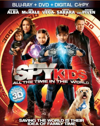 Spy Kids: All the Time in the World Digital Copy Download Code UV Ultra Violet VUDU HD HDX
