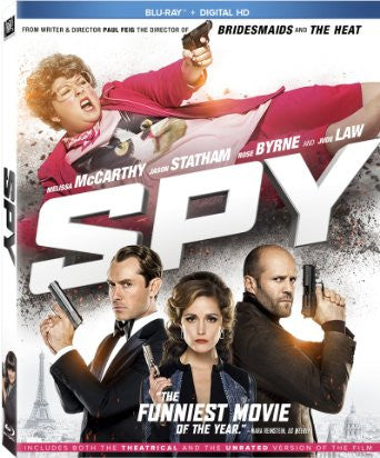 Spy Digital Copy Download Code UV Ultra Violet VUDU iTunes HD HDX