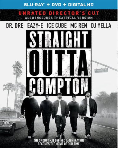 Straight Outta Compton  Digital Copy Download Code iTunes HD