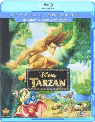 Tarzan Digital Copy Download Code Disney Movies Anywhere VUDU iTunes HD HDX