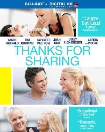 Thanks For Sharing Digital Copy Download Code VUDU HD HDX
