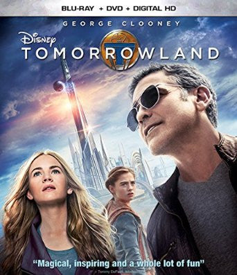 Tomorrowland Digital Copy Download Code UV Ultra Violet VUDU HD HDX