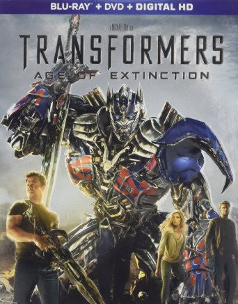 Transformers: Age of Extinction Digital Copy Download Code iTunes HD 4K