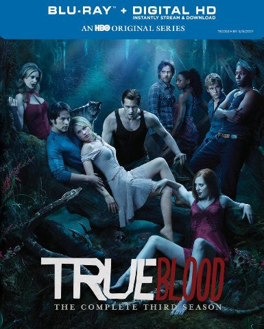 True Blood Season 3 Digital Copy Download Code UV Ultra Violet VUDU HD HDX