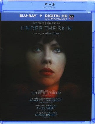 Under The Skin Digital Copy Download Code UV Ultra Violet VUDU HD HDX