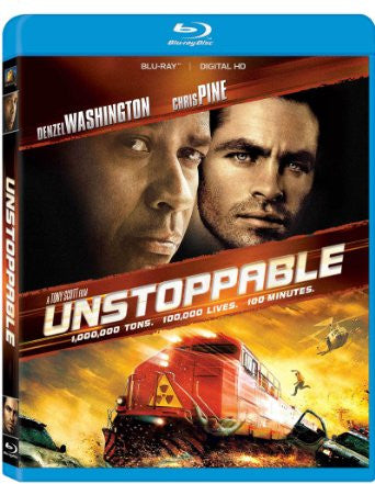 Unstoppable Digital Copy Download Code UV Ultra Violet VUDU HD HDX
