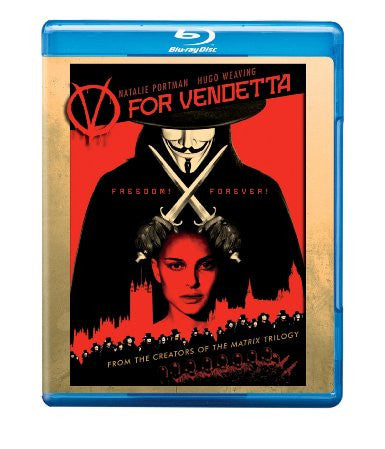 V For Vendetta Digital Copy Download Code UV Ultra Violet VUDU HD HDX