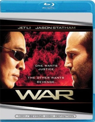 War Digital Copy Download Code UV Ultra Violet VUDU HD HDX