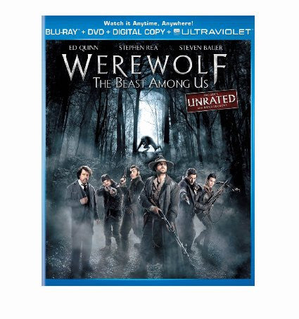 Werewolf The Beast Among Us UNRATED Digital Copy Download Code UV Ultra Violet VUDU HD HDX