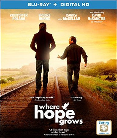 Where Hope Grows Digital Copy Download Code UV Ultra Violet VUDU HD HDX
