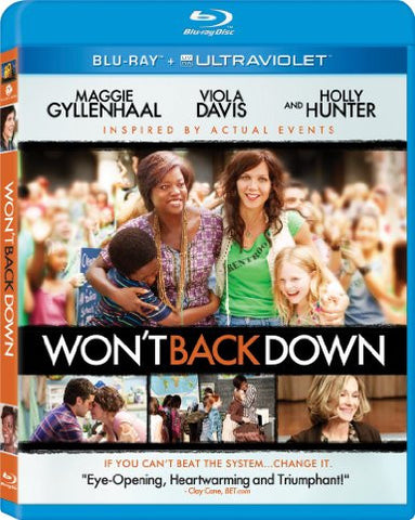 Won't Back Down Digital Copy Download Code UV Ultra Violet VUDU HD HDX