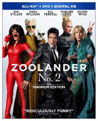 Zoolander 2 Unrated Copy Download Code UV Ultra Violet VUDU HD HDX