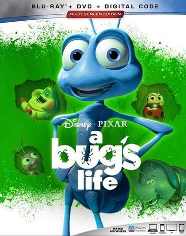 A Bug's Life Digital Copy Download Code Disney Google Play HD