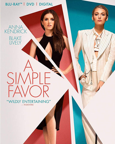 A Simple Favor Digital Copy Download Code VUDU or iTunes HD HDX