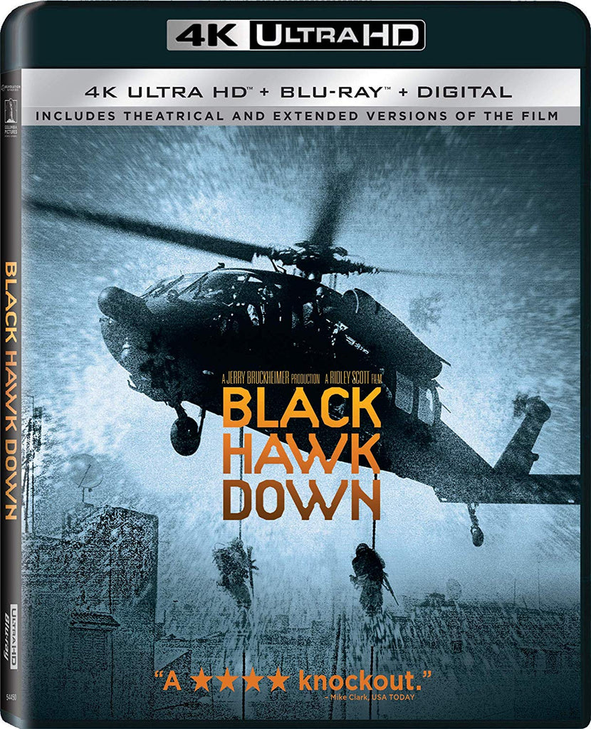 Black Hawk Down Digital Copy Download Code MA VUDU iTunes 4K