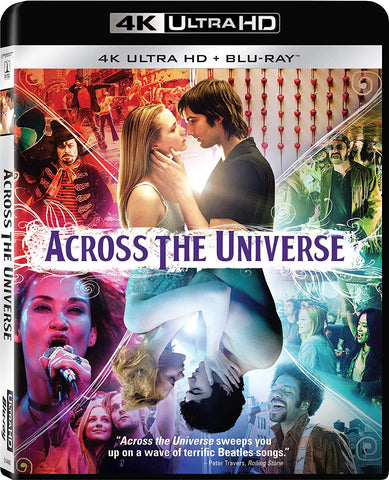 Across the Universe Digital Copy Download Code VUDU 4K
