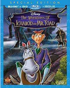 Adventures of Ichabod and Mr. Toad Digital Copy Download Code Disney Google Play HD
