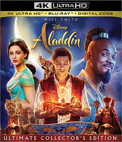 Aladdin 2019 Digital Copy Download Code Disney Vudu 4K