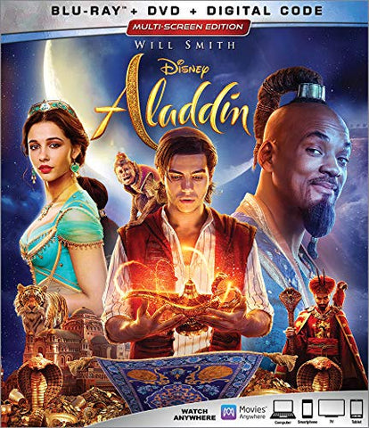 Aladdin 2019 Digital Copy Download Code Disney Vudu HD HDX