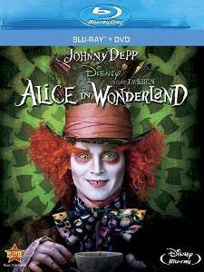 Alice in Wonderland Digital Copy Download Code Disney Movies Anywhere VUDU iTunes HD HDX