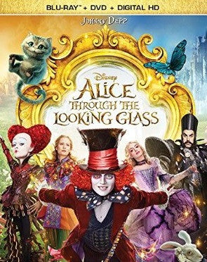 Alice Through the Looking Glass Digital Copy Download Code Disney Movies Anywhere VUDU iTunes HD HDX