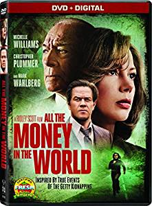 All the Money in the World Digital Copy Download Code Ultra Violet UV VUDU iTunes SD